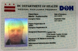 Hoodie Goodies- Understanding Washington DC Cannabis- Medical marijuana patient card