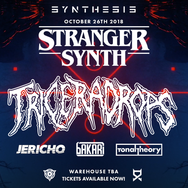 Synthesis Presents- Stranger Synths Event October 26th 2018
