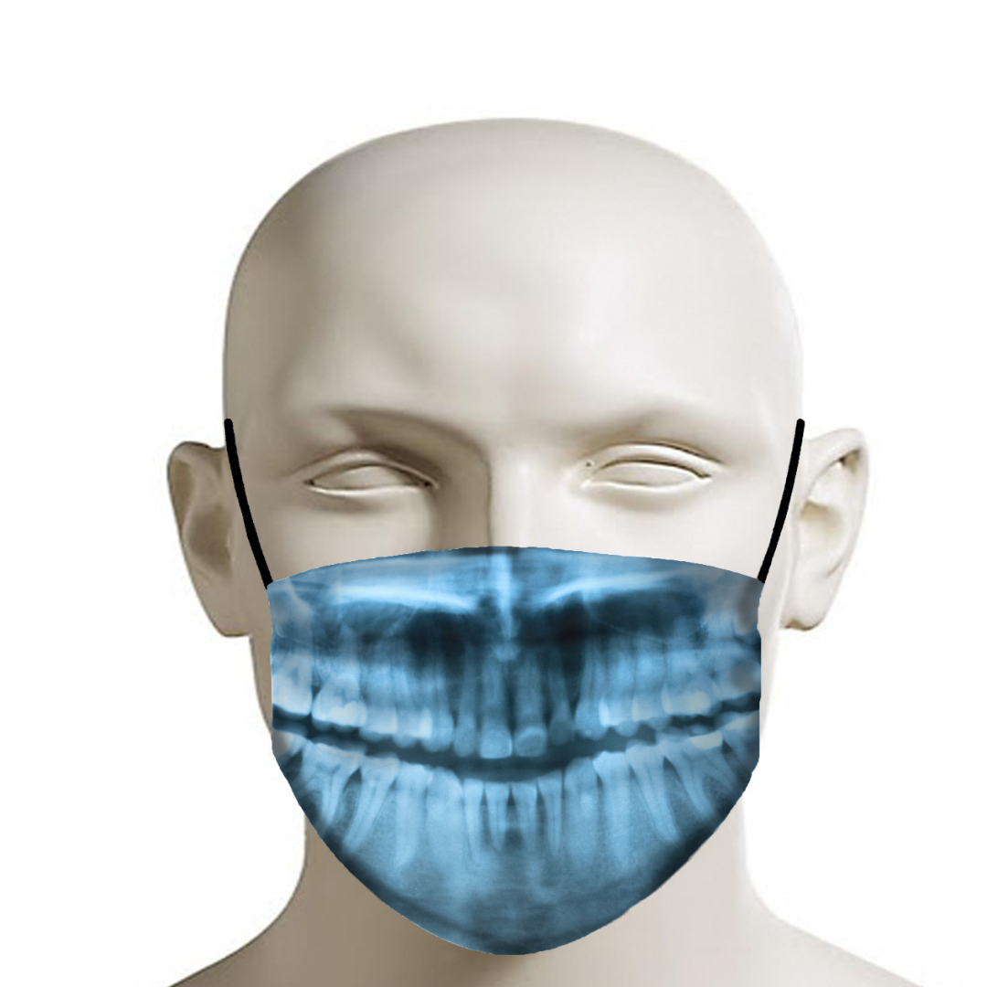 X-rayed Smile Bones