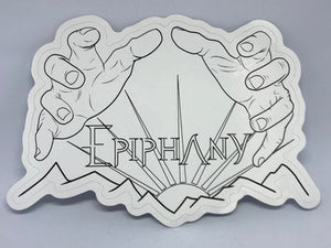 "🎸 DMV MUSIC: EPIPHANY ""SUNRISE"" VINYL BAND LOGO STICKER (+FREE DIGITAL ALBUM) 🎸"