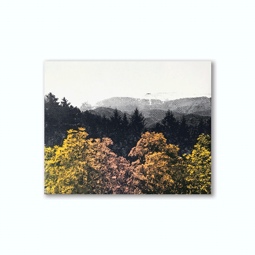 Blue Ridge Mountains 8x10 Print
