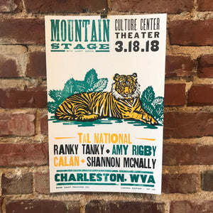March 18th, 2018 Mountain Stage Poster