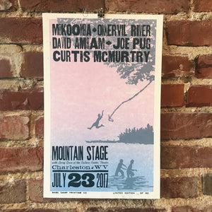 July 23rd, 2017 Mountain Stage Poster