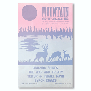 September 23rd, 2018 Mountain Stage Poster