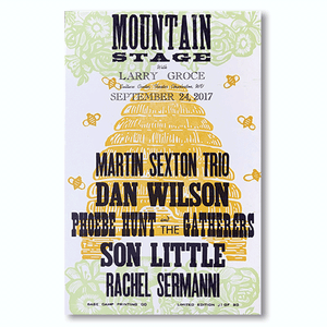 September 24th, 2017 Mountain Stage Poster