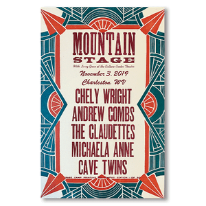 November 3rd, 2019 Mountain Stage Poster