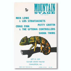 September 22nd, 2019 Mountain Stage Poster