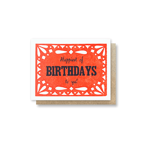 Bandana Birthday Card
