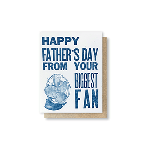 Biggest Fan Greeting Card