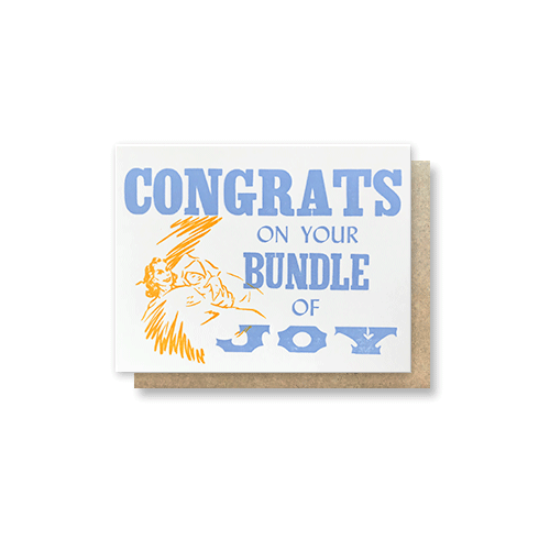 Bundle of Joy Greeting Card