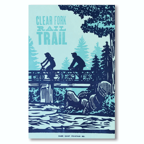 Clear Fork Rail Trail Print