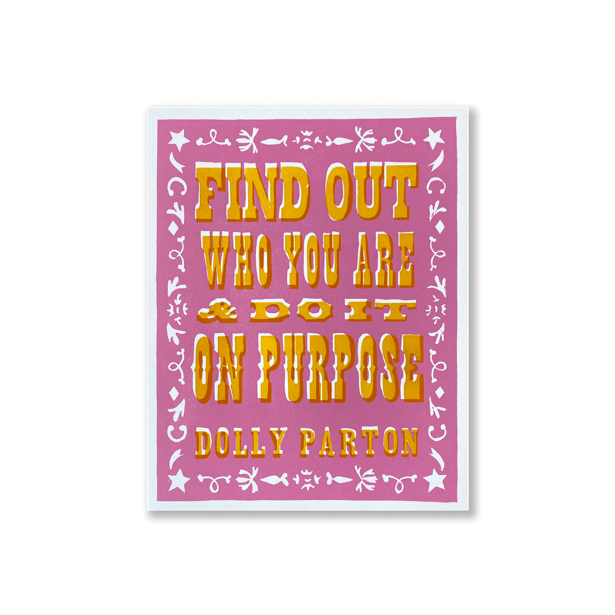 Dolly Parton Quote Print