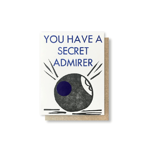Magic Eight Ball Scratch-Off Greeting Card
