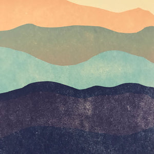 Blue Ridge Mountains Print