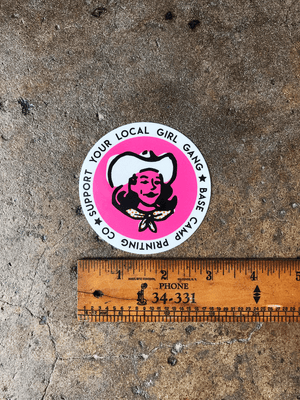 Base Camp Printing Co. Stickers