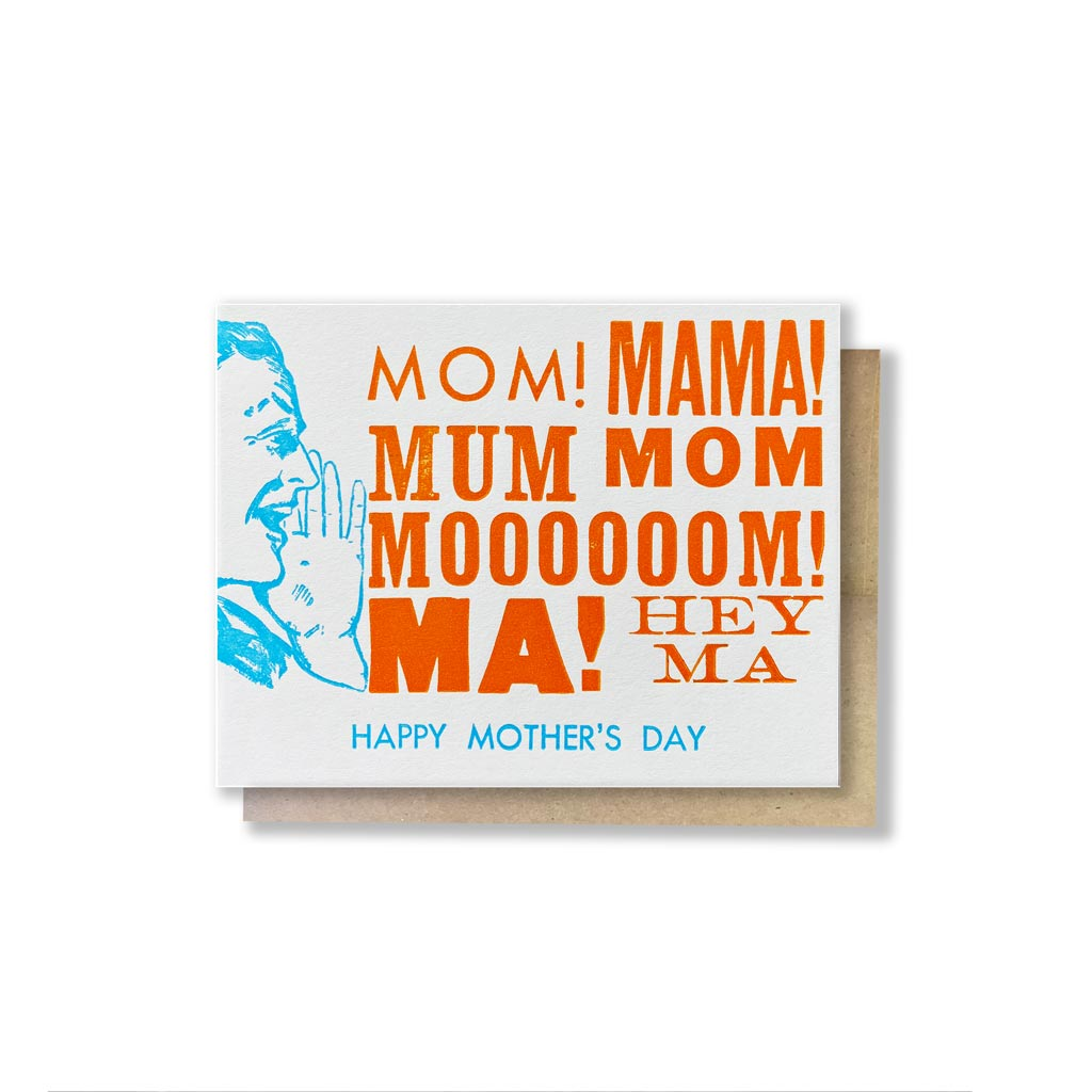 HEY MA Mother's Day Card