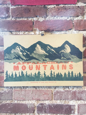 Appalachian Mountains Print