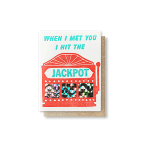 Jackpot Scratch-Off Greeting Card
