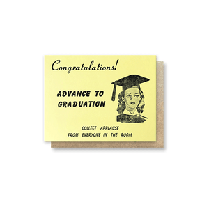 Monopoly Chance: Graduation Greeting Card