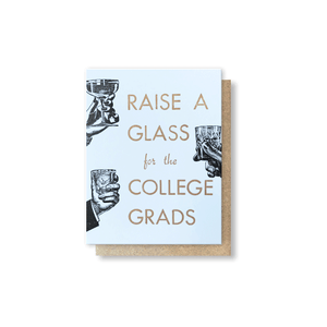 Raise A Glass Greeting Card