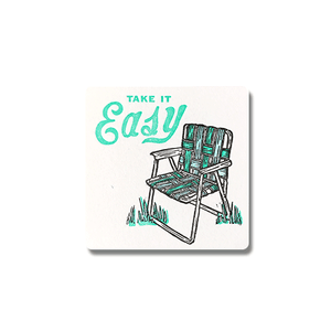 Take It Easy Coasters