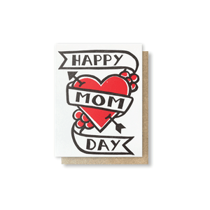 Mom Tattoo Greeting Card