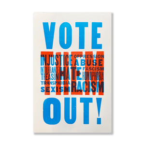 Vote Them Out Print