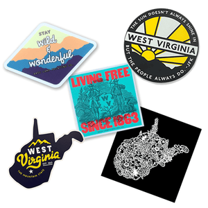 West Virginia Stickers