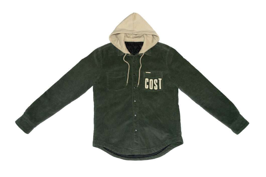 Pine Hooded Cord Jacket