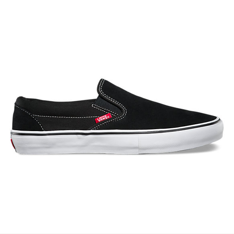 Vans - Slip-On Pro - Black/White/Gum