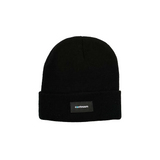 Continuum - Fine Knit Beanie - Black