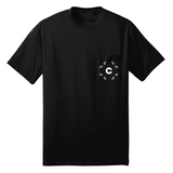 Continuum - Bandana Pocket Tshirt - Black