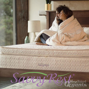 Savvyrest Latex Mattress Unity Pillowtop-SAVVYREST-Sleep Naked Organic Mattress Store
