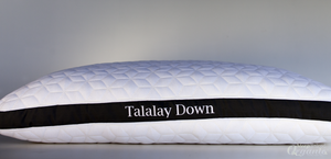 Talalay Down Pillow-PURE TALALAY BLISS-Sleep Naked Organic Mattress Store