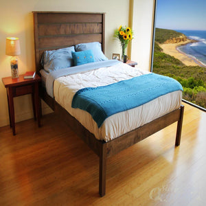 Savvyrest Esmont Platform wooden Bed-SAVVYREST-Sleep Naked Organic Mattress Store