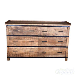 Wooden Natural Low VOC natural Dresser or Buffet-Azure Tiger-Sleep Naked Organic Mattress Store