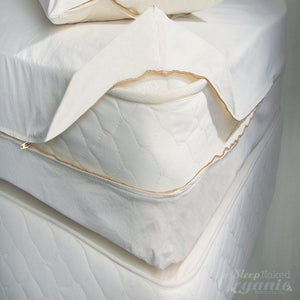 Woven Mattress Encasement-ORGANICPEDIC-Sleep Naked Organic Mattress Store