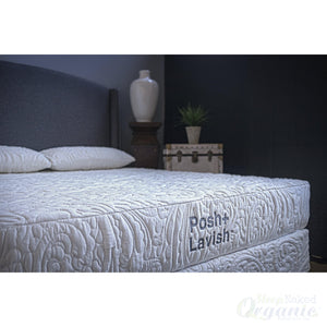 Posh + Lavish Premier Pocket Sprung-Posh+Lavish-Sleep Naked Organic Mattress Store