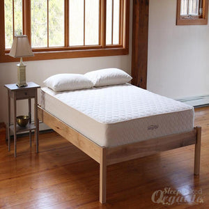 SavvyRest EarthSpring Coil and Latex Mattress-SAVVYREST-Sleep Naked Organic Mattress Store