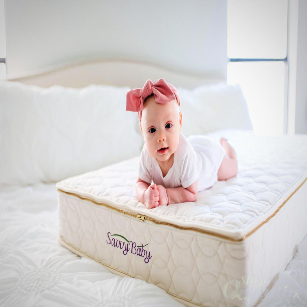 Savvyrest Crib Mattress-SAVVYREST-Sleep Naked Organic Mattress Store