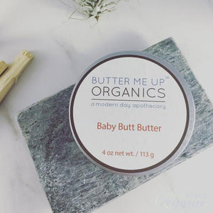 Natural Baby Bottom Cream | Safe, Non-toxic and organic-White Smokey-Sleep Naked Organic Mattress Store