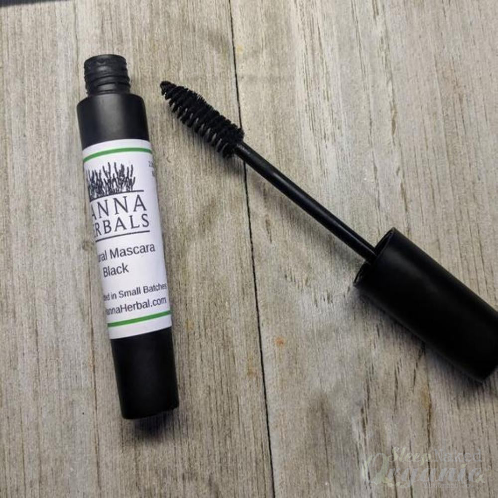 Natural Mascara - Black Mascara - Organic Makeup -Violet Alfie-Sleep Naked Organic Mattress Store
