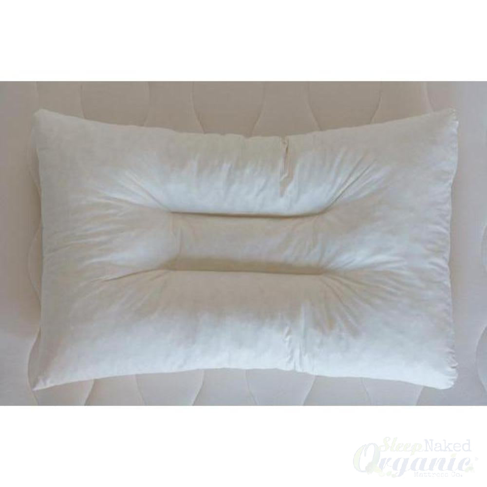 Obasan Organic Contour Pillow-OBASAN-Sleep Naked Organic Mattress Store
