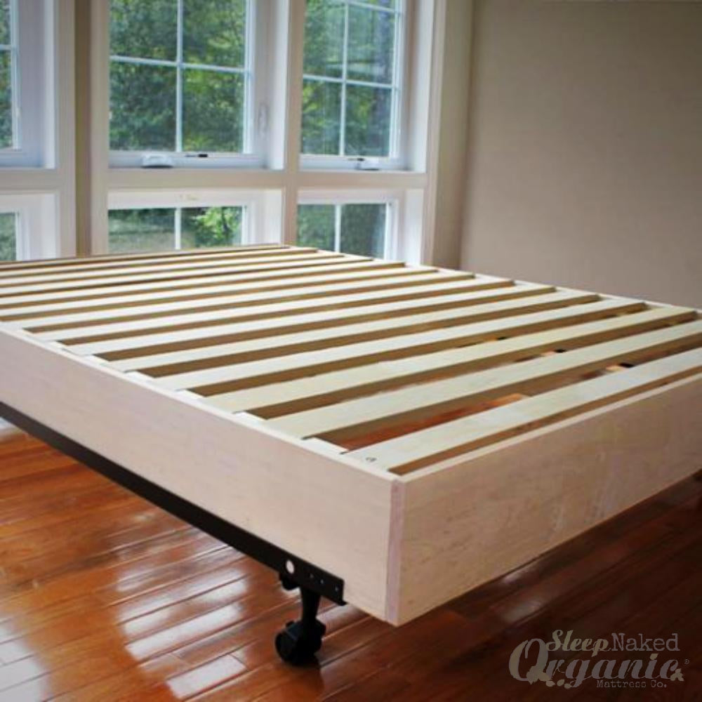 Savvy Rest - Wooden Platform Bed Insert-SAVVYREST-Sleep Naked Organic Mattress Store