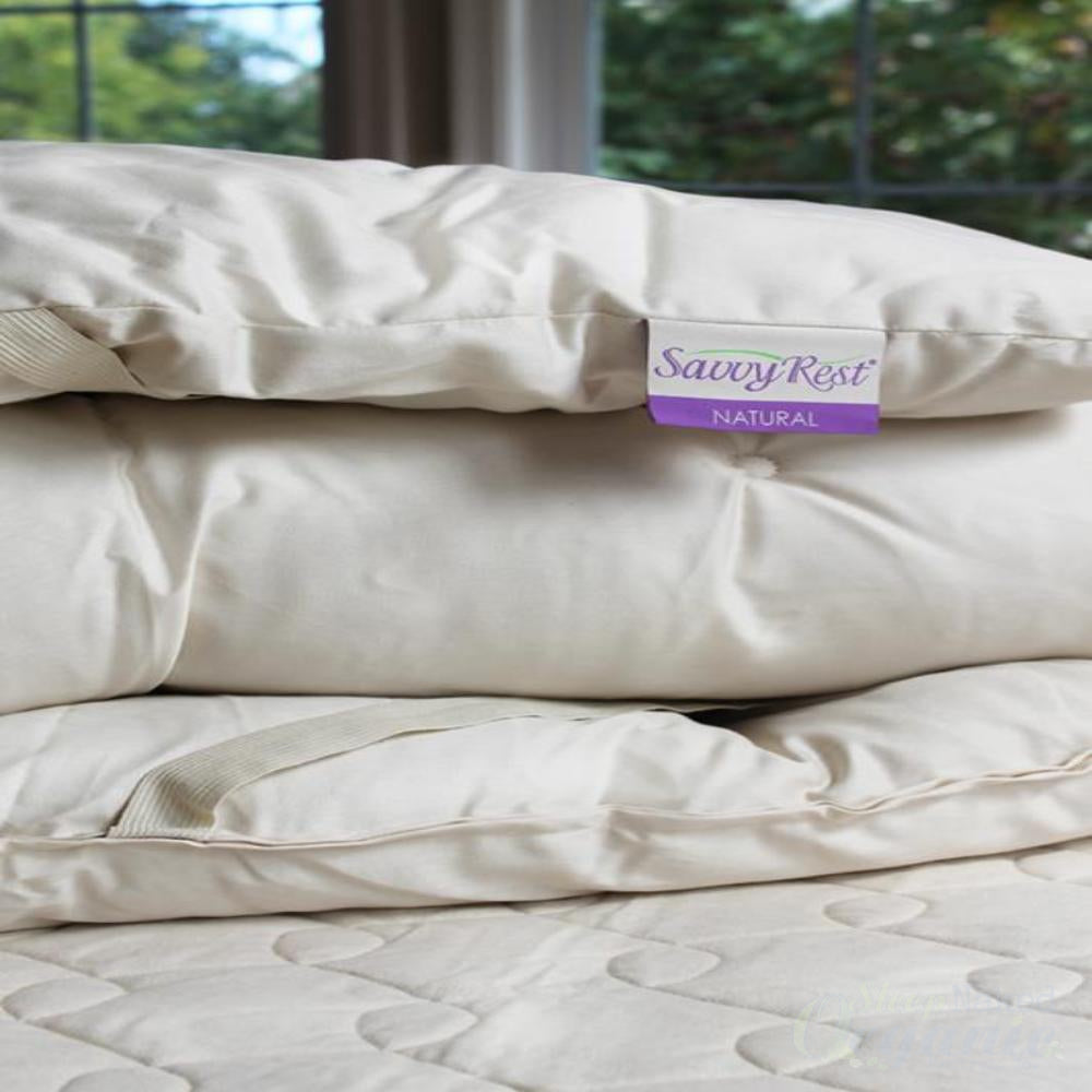 "Woolsy Topper | Savvyrest Wool Topper in 3"" comfort loft-SAVVYREST-Sleep Naked Organic Mattress Store"
