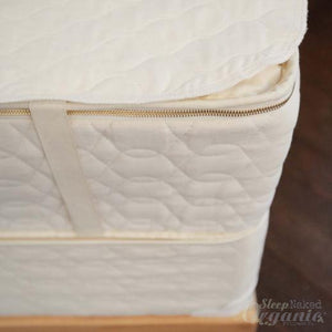 Organic Mattress Pad-SAVVYREST-Sleep Naked Organic Mattress Store