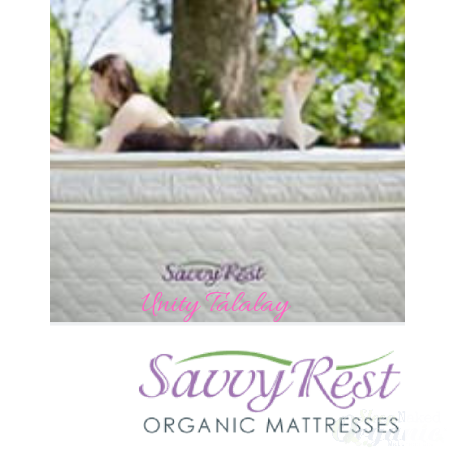 SavvyRest- Harmony Dunlop or Talalay Latex mattress Pillow-top-SAVVYREST-Sleep Naked Organic Mattress Store