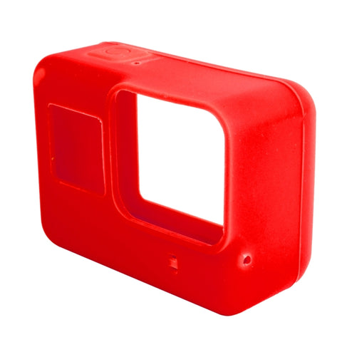 Voor GoPro HERO5 Siliconenbehuizing Beschermhoes Cover Shell (rood)