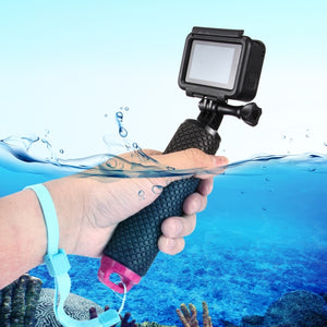 Sport Camera Floating Hand Grip / Diving Surfing Buoyancy Rods with Adjustable Anti-lost Hand Strap for GoPro HERO 5 / 4 / 3+ / 3 & Xiaomi Xiaoyi Yi / Yi II 4K & SJCAM
