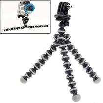 Mini Octopus Tripod with Tripod Adapter for GoPro NEW HERO / HERO6 / 5/5 Session / 4 Session / 4/3 + / 3/2/1, Xiaoyi and Other Action Cameras (ST-105)